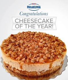The 2013 Cheesecake of the Year: Lisa Bernardi's Apple Crumble Cheesecake