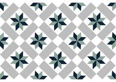 V2-182, carreau ciment géométrique