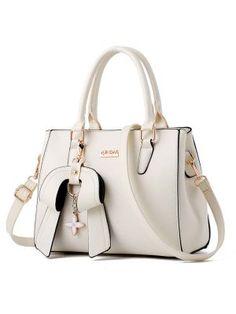 a84df9ae101f Big Bowknot Shoulder Bag Leather Crossbody Bag