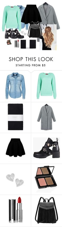 """Ootd#36"" by luludedid on Polyvore featuring mode, Vero Moda, Toast, Refresh, Vivienne Westwood, e.l.f., Givenchy, women's clothing, women et female"