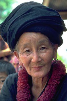 Timeless beauty by john spies on 500px Mien tribal elder, Phayao province, Thailand. Taken on kodachrome slide film, early 1980's