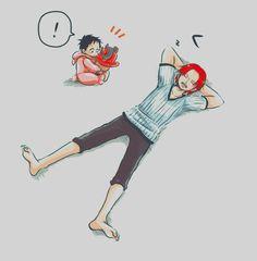 Shanks Luffy