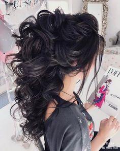 Wedding Hairstyles : 100 Wow-Worthy Long Wedding Hairstyles from Elstile | Hi Miss Puff Part 23 #weddinghairstyles
