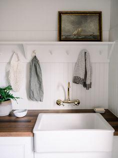 Leather Granite, Brick Tiles, Dutch Door, Living Room White, Minimalist Interior, European Fashion, European Style, Kids House, Mudroom