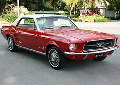 cool 1967 Ford Mustang COUPE - CALIFORNIA - RESTORED - For Sale View more at http://shipperscentral.com/wp/product/1967-ford-mustang-coupe-california-restored-for-sale/