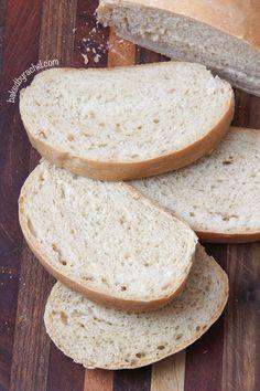 Soft Italian Bread Recipe from bakedbyrachel.com