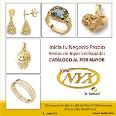 ¡Sé una emprendedora con Joyas NYX! Nuestra tienda:Av. Ejercito 606 Of. 202 Yanahuara.  Consultas y pedidos a: 054 397081 / 968879264