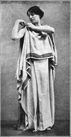 Romeinse vrouwenkleding zelf maken