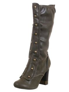 Victorian metal shoe heal hob nail boots lucky horse shoe type decor