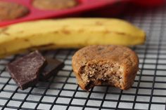 Banana Nut Chocolate Chip Muffins  