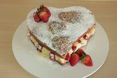 NAKED CAKE DE CORAÇÃO!!! ...