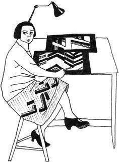 Sonia Delaunay (1885-1979) – NANAS | Portraits de créatrices