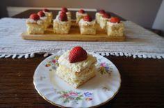 Fraisier – Strawberry Squares | KitchenSpells