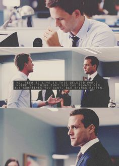 Harvey Specter and Mike Ross | Quotes | Suits | Fan Art