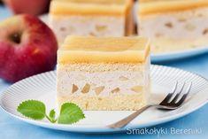 Ciasto z masą cynamonową z jabłkami