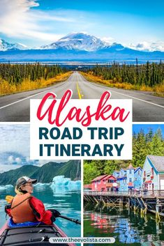 Alaska Summer Trip Itinerary - THE EVOLISTA - - Sharing our Alaska summer trip Itinerary because it was one of the best trips ever. If you're looking for the best Summer in Alaska activities, this is it! Usa Travel Guide, Travel Usa, Travel Tips, Travel Packing, Best Travel Guides, Canada Travel, Alaskan Vacations, Alaska Summer, Alaska Travel