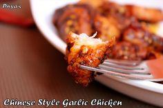 Chinese Style Garlic Chicken