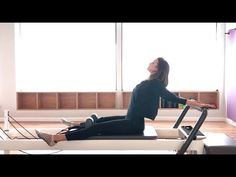 Pilates Reformer: Beginner Class to Stretch + Strengthen Back and Legs - YouTube