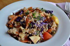 färgsprakande quinoaotto med höstsmaker.