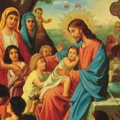 Jesús y los niños.