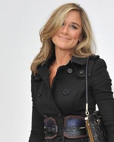 """Angela Ahrendts::: Aside from her being: First woman to become the highest-paid executive in Britain (2013); CEO of Burberry; Known to be a great and personable leader; Completely turned Burberry around by increasing sales, exposure and reputation... She's also a Christian, married with 3 kids. """"Others might say they were """"lucky"""" to have come so far and have so much; she refers to herself constantly as """"blessed."""""""" http://magazine.wsj.com/features/the-big-interview/earning-her-strips/"""
