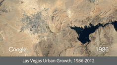 How Humans Are Changing the Planet—in 7 Dramatic GIFs: Watch as Las Vegas booms, the Amazon disappears, and Dubai grows out into the sea...
