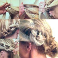 Side Messy Knots! New way to style your hair. Ready, set, GO!!