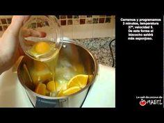 Bizcocho de naranja con Thermomix - La web de cocina de Mabel