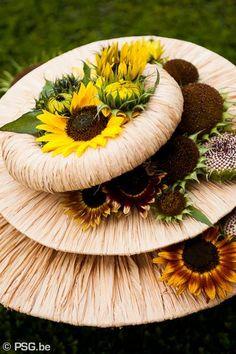SunFlowers arrangement by Geert Pattyn.