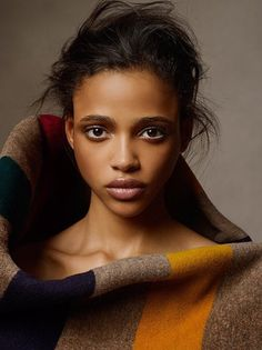 Aya Jones shot by Nikolai Golovanoff