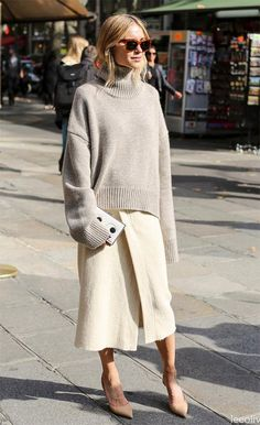Styling a sweater for fall