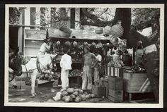 mercado de Frutas de Caracas 1930 CARACAS EN RETROSPECTIVA