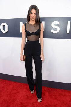 Kendall Jenner Red Carpet Style - Kim Kardashian's Sister Kendall Jenner Style - Harper's BAZAAR