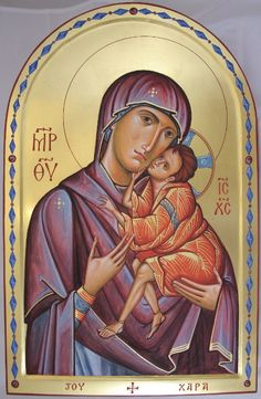 Our Lady of Joy - Aidan Hart Sacred Icons