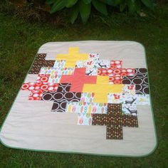 gemini stitches: Tribal Woodlands quilt