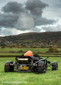 Ariel Atom -- Not need for a top; fast enough to outrun a storm.