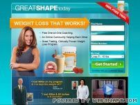 Great Shape today  Free One-on-One Coaching.  An Online Community Helping Each Other.  Great Tasting, Clinically Proven Weight Loss Program. yourhealthandwellnesscoach.com/     Start Burning Fat now, by eating the Right kinds of Food and Cut Out the Foods never to eat. Try risk free trial to find out if it works for you .......