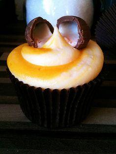 Oh my word.  Yes please.    Cadbury Creme Egg cupcake