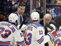 New York Rangers coach David Quinn had quite a first season as he changed the culture of the team by implementing a system based on accountability for all. Brad Marchand, Henrik Lundqvist, Making The Team, Hockey World, American Games, Arizona Coyotes, Nhl News, Assistant Jobs, Anaheim Ducks