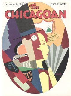 ' Boulevard ' The Chicagoan Vol. December 1930 -Cover art by Aaron Bohrod Cover Art, Graphic Design Illustration, Illustration Art, Magazine Art, Magazine Covers, Catalog Cover, Kunst Poster, My Kind Of Town, Vogue Covers