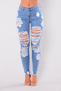 The Perfect Jeans for Women - Shop Affordable Denim – translation missing: en.page, Walk It Out Distressed Jeans - Medium. Outfit Jeans, Cute Ripped Jeans Outfit, Superenge Jeans, Diy Jeans, Cute Pants, Nova Jeans, Plus Size Skinny Jeans, Ripped Skinny Jeans, Distressed Skinny Jeans