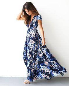 Hillsdale Wrap Maxi Dress
