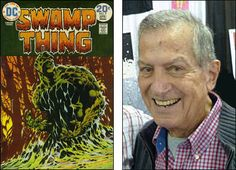 Gaspar Saladino, R.I.P.  See that comic book cover at left? See the great logo on it saying SWAMP THING? That great logo was the handiwork of the man at right. For around five decades, you couldn't read DC Comics without seeing and surely enjoying the contributions of Gaspar Saladino, who passed away yesterday following a long illness. Sources …