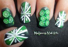3D Cute Green Limes Fimo Nail Art http://youtu.be/FLCO39VM2qI