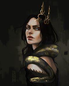 (1) Media Tweets by Zara ~ زهراء (@za_ra_h_) / Twitter Game Character Design, Character Art, Viking Halloween Costume, Arte Sketchbook, Goth Art, Character Portraits, Fantasy Characters, Fictional Characters, Art Pictures