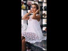 tutorial crochet  vestido de boda paso a paso /how to do (subtitulos in ...