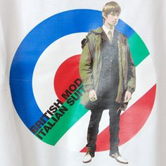 Stomp T-Shirt British Mod Italian Suit