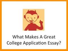 College Essays That Stand Out From The Crowd  College Application