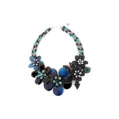 NOVICA Floral Beaded Agate Necklace ($144) ❤ liked on Polyvore featuring jewelry, necklaces, agate, beaded, novica, floral necklace, beads jewellery, beaded jewelry and novica jewelry