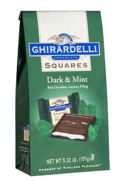 Ghirardelli Dark Chocolate Squares with Mint Filling: Bag Mint Dark Chocolate, I Love Chocolate, Chocolate Gifts, Chocolate Lovers, Bulk Candy, Candy Store, Chocolates, Ghirardelli Chocolate Squares, Individually Wrapped Candy